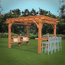 oasis pergola 12 x 10 pergola patio backyard discovery