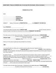 Sample Letter For Lease Termination 18 Termination Letters No Free Word Pdf Excel Format
