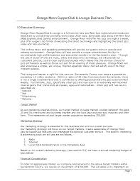 photos of business plan summary examples executive summary