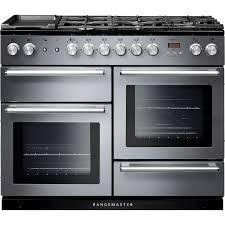 piano de cuisine electrique cuisinière à gaz électrique mixte en fonte nexus 110