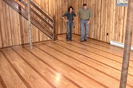 Bamboo Flooring In Basement by Floating Hardwood Floors Floating Floor From Armstrong Flooring