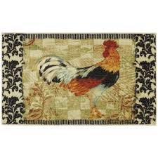 Mohawk Home Accent Rug Mohawk Home Bergerac Rooster Neutral 2 Ft 6 In X 3 Ft 10 In