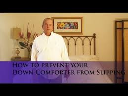How To Make A Duvet Cover Stay How To Prevent Your Down Comforter From Slipping Inside Your Duvet