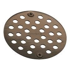 moen 102763orb kingsley 4 inch in shower strainer oil