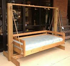 Swinging Bed Frame Outdoor Bed Swing Sustainablepals Org