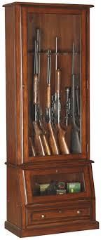 american classics gun cabinet 898 12 gun slanted base cabinet american furniture classics
