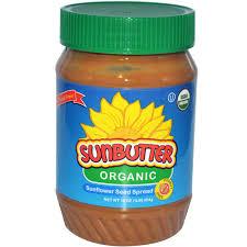 sunbutter organic sunflower seed spread 16 oz 454 g iherb com