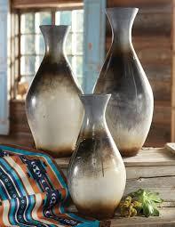 3 Vases Set Chalote Silver Vases Set Of 3