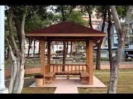 Backyard Pavilions Ideas Commercial Pavilion Cost Youtube