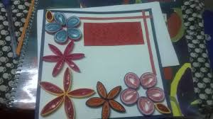gift ideas u2013 diy hand crafted paper quilled greeting card