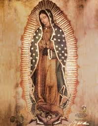 tattoo nation cielo replica new 19 5 x 27 inches replica of original our lady of guadalupe