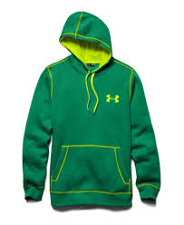 discount under armour mens rival hoodie cotton green yellow 1 jpg