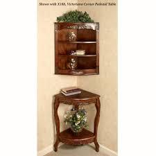 Images Of Curio Cabinets Victoriana Wall Corner Curio Cabinet