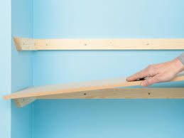 Simple Wood Storage Shelf Plans by Custom Shelving Done 4 Ways How Tos Diy