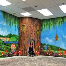 modern mastery modern masters cafe blog children s tree mural in reading corner of the trenton nj library artistry by nichole