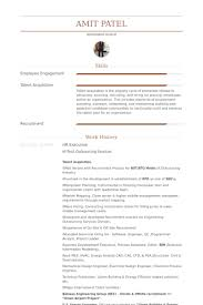 Hr Manager Resume Sample by Hr Executive Resume Samples Visualcv Resume Samples Database