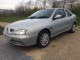 renault megane 1 year mot expresson a c coupe in west london