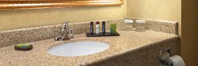 Bathroom Amenities Embassy Suites By Hilton East Peoria Riverfront Hotel