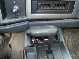 jeep cherokee xj 1984 to 2001 how to remove automatic shift knob