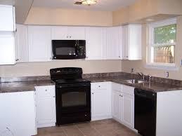 black appliances kitchen ideas facelift white cabinets with black appliances kitchen ideas