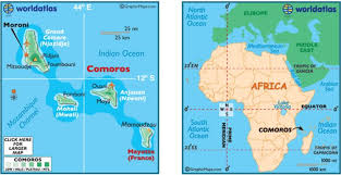 map comoros ruins of funi aziri bangwe from comoros africa sola