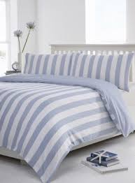 Blue Striped Comforter Set Best 50 Striped Bedding Sets Comforter Foter