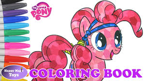 my little pony color book my little pony coloring book pinkie pie crystal empire happy magic