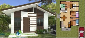 Floor Plan And Perspective Aspen Heights Subdivision Kareena Model Bungalow