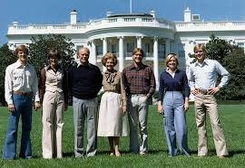 ford family file the ford family on the south lawn of the white house nara