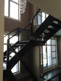 open riser stairs open staircase artistic stairs