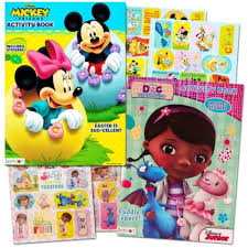 Minnie Mouse Easter Stickers Disney Easter Coloring Books Set With Stickers 7 95