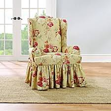sure fit chair slipcover sure fit bed bath beyond