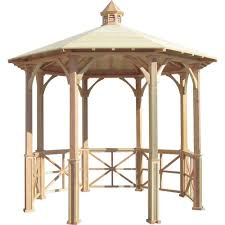 Patio Gazebos by Hampton Bay 10 Ft X 10 Ft Cottleville Gazebo Gfs00744a The
