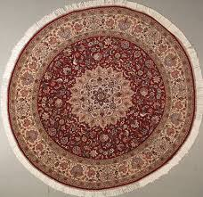 Red Round Rug Handmade Rugs Oriental Rugs Discounted Area Rugs Round Rugs