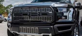 Ford Raptor Decals - 2017 ford raptor front upper grille overlays u2013 american car craft
