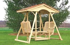 Backyard Swing Sets Canada Double Facing Glider Swing Plans Comfo Back Double Glider Double