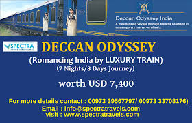 deccan odyssey luxury train spectra travel u0026 tourism