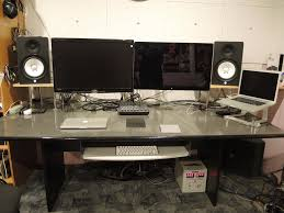 How To Build A Home Studio Desk by Mac Setup Dual Display Setup Of A Pro Music Producer