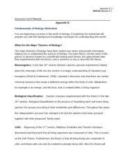 week 1 fundamentals of biology worksheet appendix b appendix b