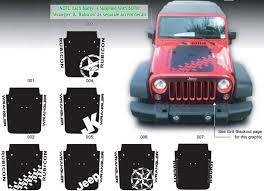 jeep grill decal product jeep decal sticker hood badge blackout graphics 07 16
