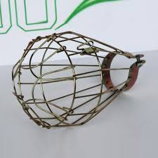 industrial cage light bulb cover nordic iron industrial l guard diy cage transformable net bulb