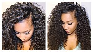 curly hair extensions before and after how to blend your leave out with curly hair extensions