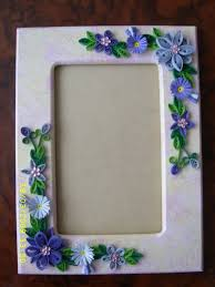 quilled photo frames first time making them love it