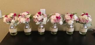 jar flower arrangements 37 jar baby shower ideas table decorating ideas