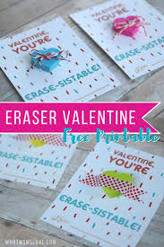 non candy printable valentine perfect for the classroom u201cyou u0027re