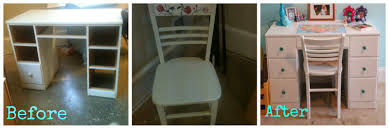 Cheap Desks Candace Creations Cheap Diy White And Turquoise Desk And Chair
