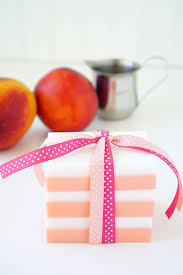 10 minute diy peaches and cream soap happiness is homemade
