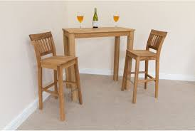 Oak Bar Stool With Back Dewsbury Solid Oak Breakfast Bar Table 2 Stools In And Plan Chairs