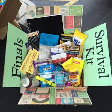 College Care Package College Student Finals Survival Kit Care Package Gift Box By