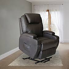 amazon com mecor power recliner position lift chair leather